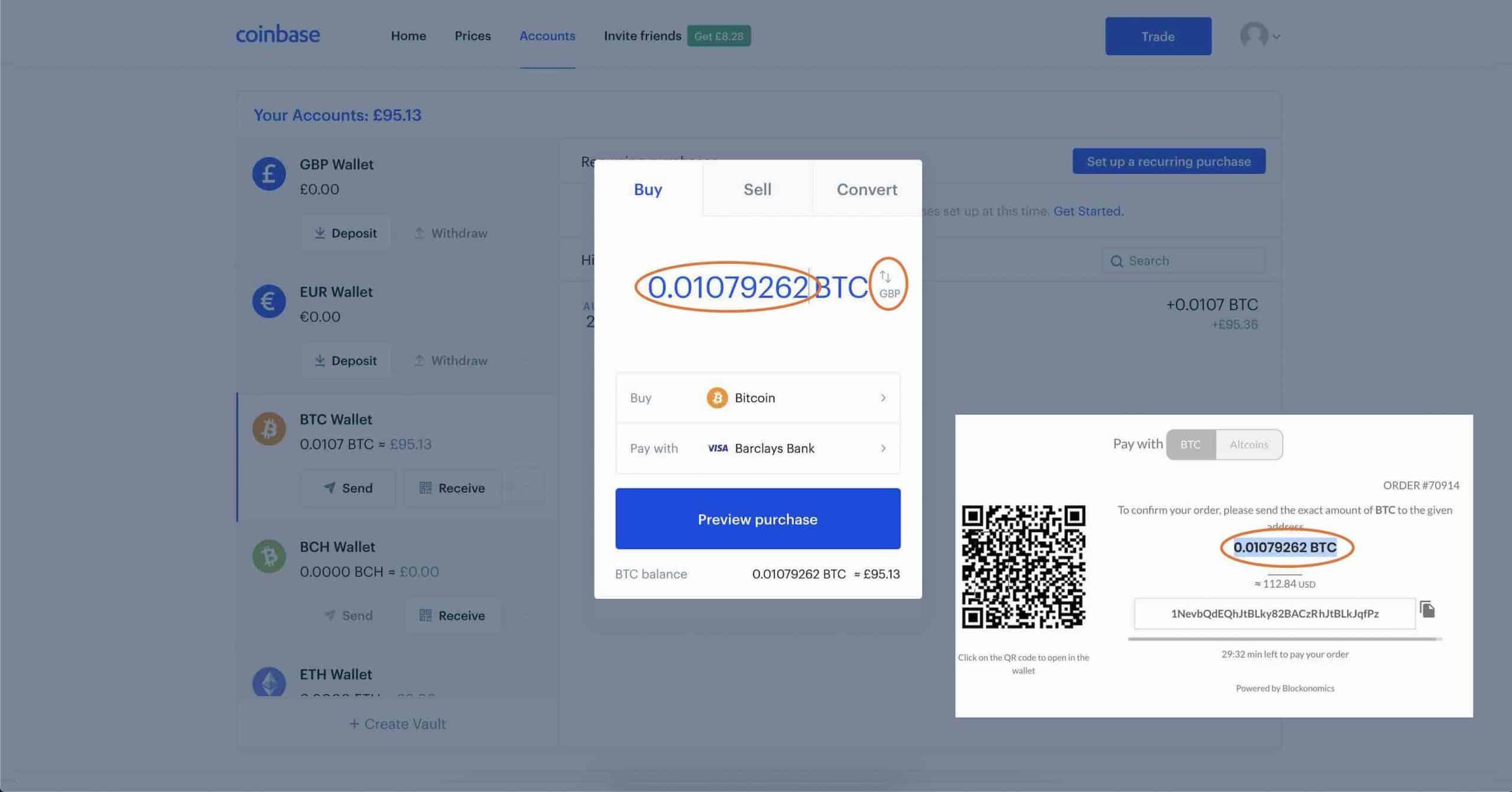4 Coinbase Buy Bitcoin
