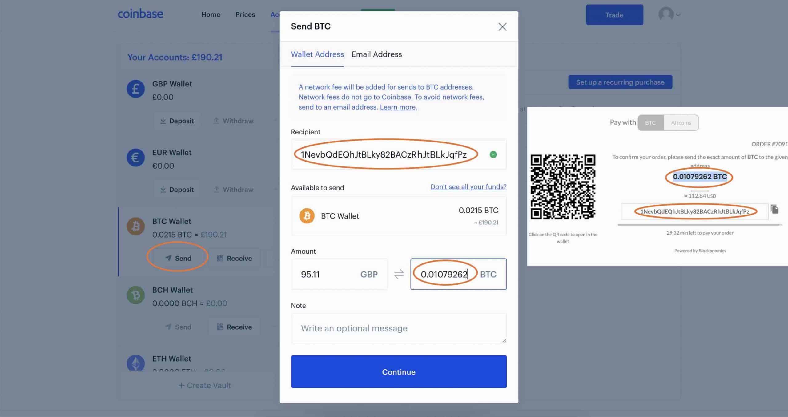 4 coinbase verify address